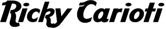 Ricky Carioti – Official Website